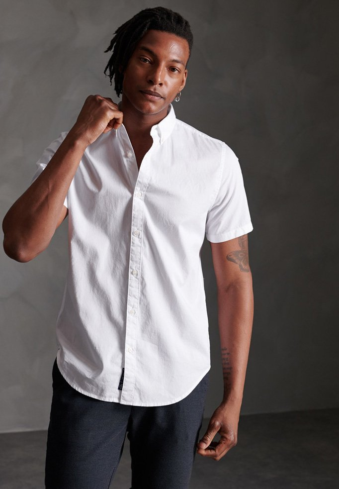 Superdry Classic Twill Lite - Camisa Optic