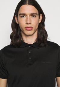 KARL LAGERFELD - PRESS BUTTON - Polo shirt - black - 3