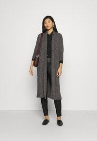 Banana Republic - BRUSHED CARDIGAN - Cardigan - dark charcoal - 1