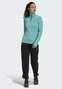 adidas Performance - TERREX EVERYHIKE HALF-ZIP FLEECE OBERTEIL - Fleece jumper - mint - 1