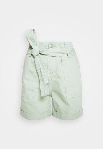 Denim shorts - mint