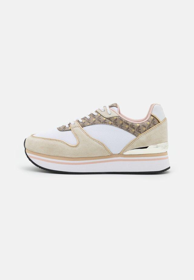 Sneakersy niskie - frost/ecru/gold