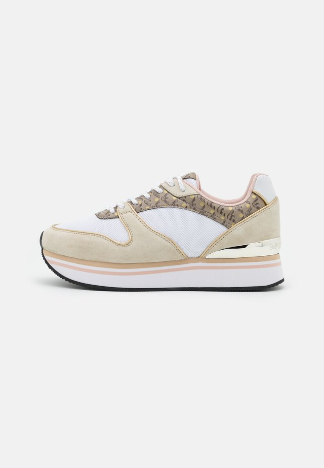 Sneakers laag - frost/ecru/gold