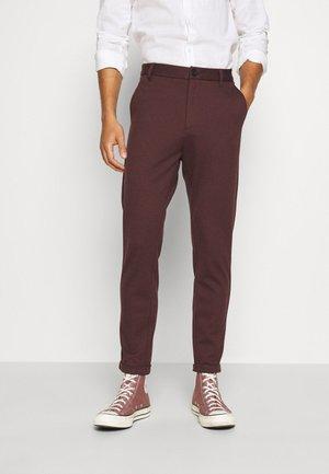 Pantalon classique - bordeaux