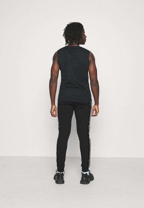 Glorious Gangsta BARCO - Spodnie treningowe - black/gold/czarny Odzież Męska SAYZ