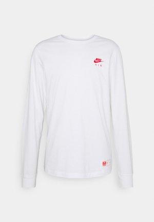TEE AIR - T-shirt à manches longues - white