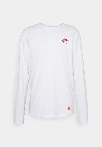 TEE AIR - Maglietta a manica lunga - white