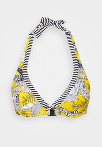 TULUM BEACH - Bikini top - yellow