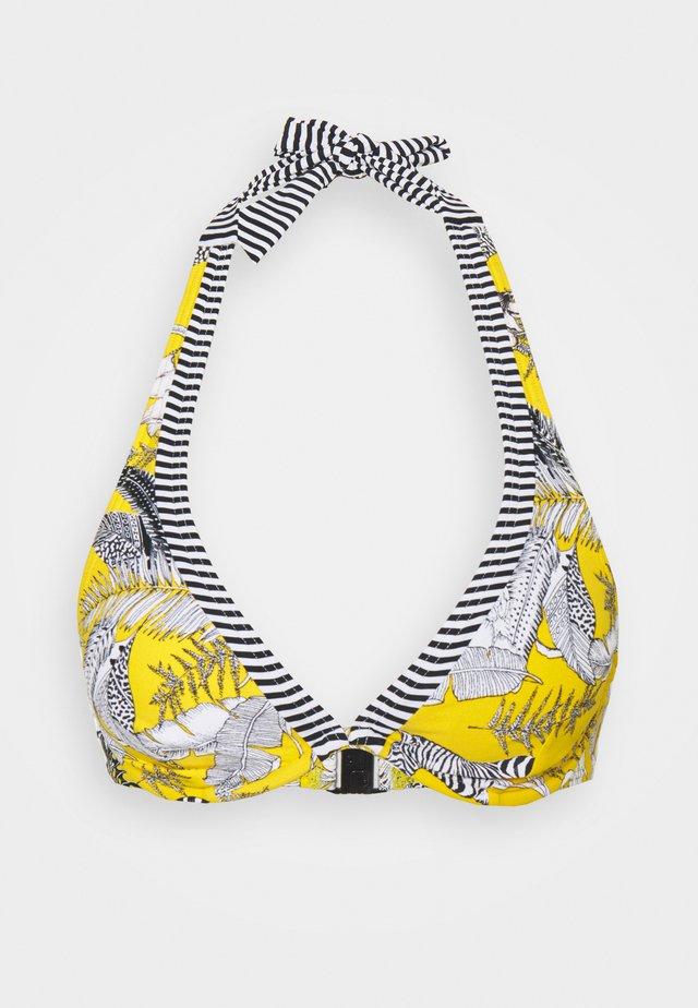TULUM BEACH - Bikini pezzo sopra - yellow