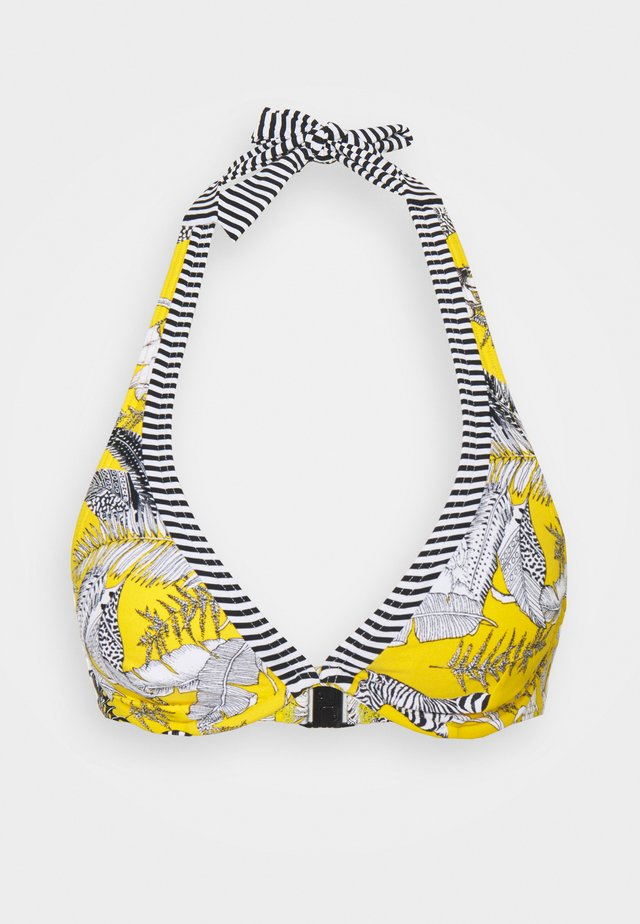 TULUM BEACH - Bikiniöverdel - yellow