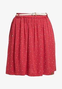 Ragwear - MARE - Áčková sukně - chili red - 3