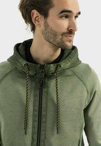 camel active - Zip-up sweatshirt - leaf green - 3