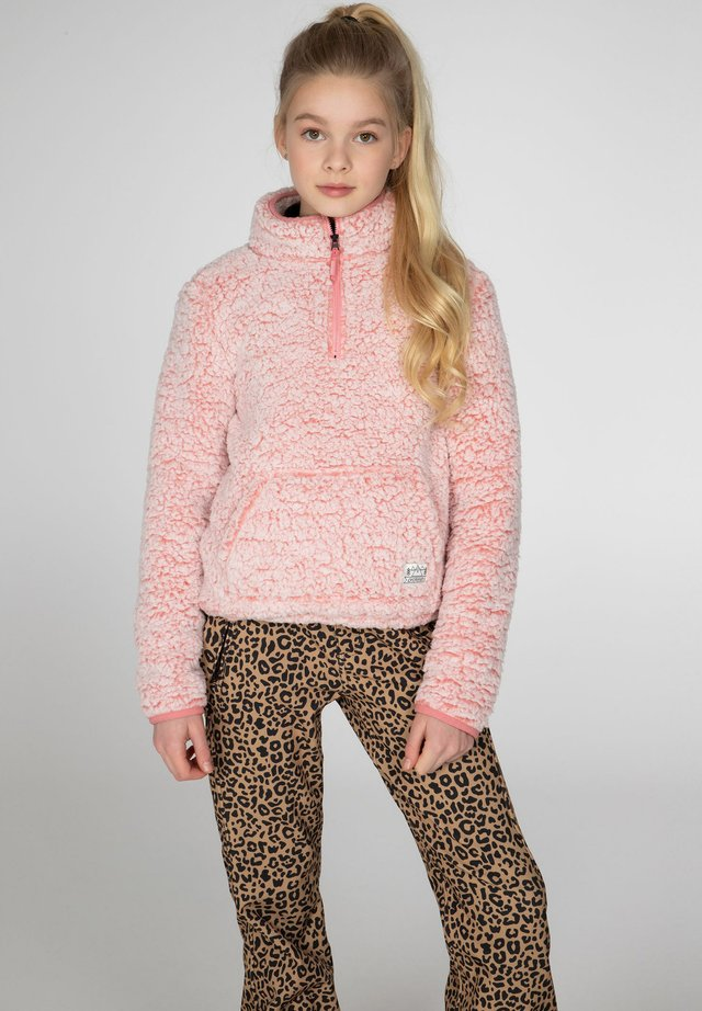 DEMI - Fleece jumper - think pink