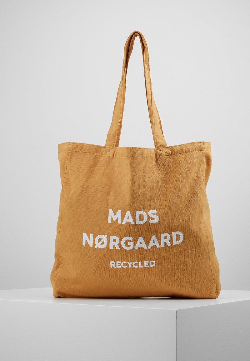 Mads Nørgaard - BOUTIQUE ATHENE - Velká kabelka - tan/white