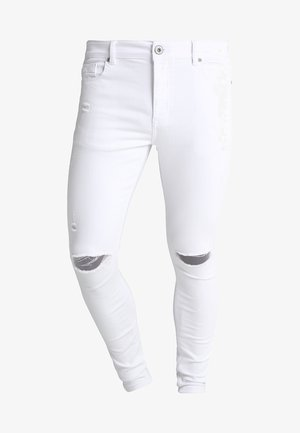 LUMOR - Skinny džíny - white