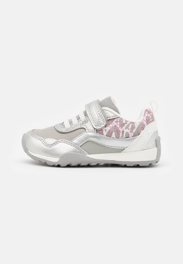 JOCKER PLUS GIRL - Sneakers laag - silver/white