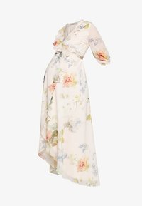 Hope & Ivy Maternity - SLEEVE WRAP DRESS - Maxi šaty - blush - 4