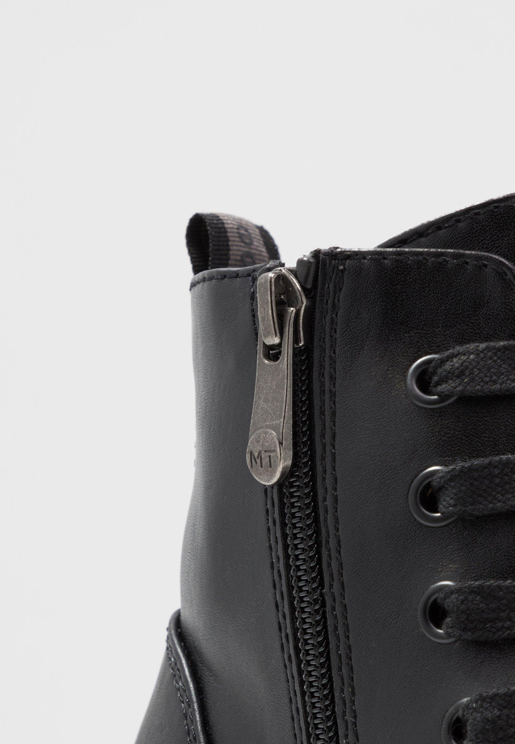 Marco Tozzi Boots - Plateaustøvletter Black Antic