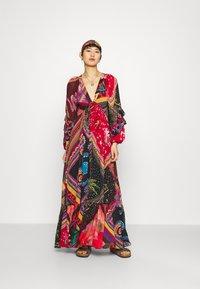 Farm Rio - DIAGONAL SCARF DRESS - Maxi dress - multi - 1