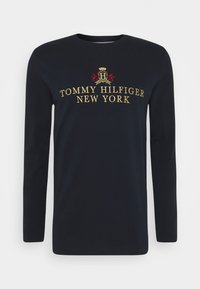 Tommy Hilfiger - SMALL CREST ICON TEE - T-shirt à manches longues - blue - 4