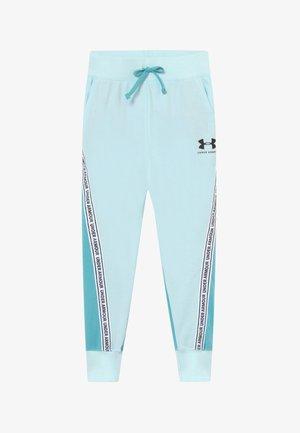 RIVAL PANTS - Teplákové kalhoty - rift blue/black