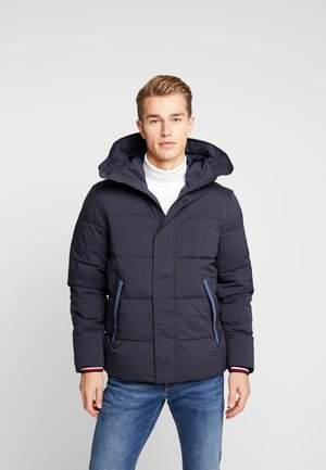STRETCH HOODED - Winter jacket - blue