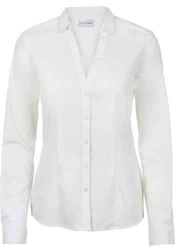 Hemdbluse - weiß