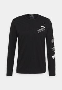 Puma - AMPLIFIED TEE - Long sleeved top - black - 4