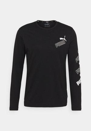 AMPLIFIED TEE - Langarmshirt - black