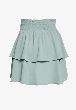 ONLNOVA LUX SMOCK  - Pleated skirt - chinois green