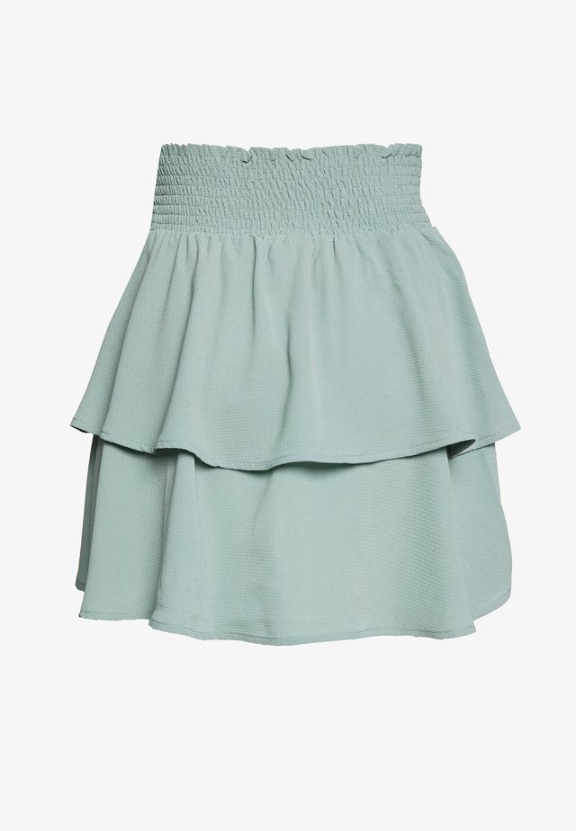 ONLNOVA LUX SMOCK  - Pliceret nederdel /Nederdele med folder - chinois green