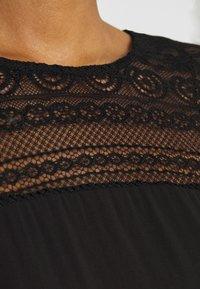 Vila - VIURIS LACE DRESS - Day dress - black - 5