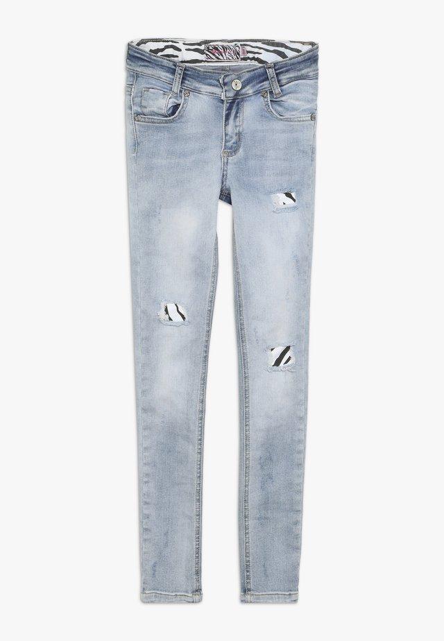 GIRLS DESTROYED - Jeans Skinny Fit - light blue