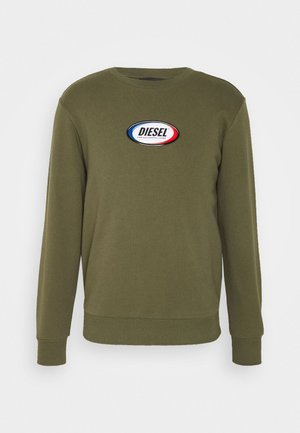 S-GIRK-N85 SWEAT-SHIRT - Felpa - olive