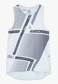 adidas Performance - TEE - Camiseta de deporte - skytin/legink/white - 0