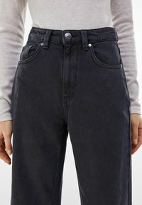 Bershka - Flared Jeans - black - 3