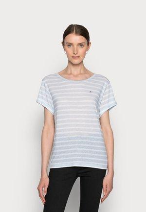 RELAXED - Print T-shirt - blue
