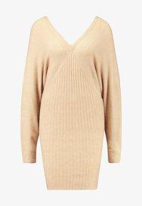 Even&Odd - Jumper dress - beige - 3