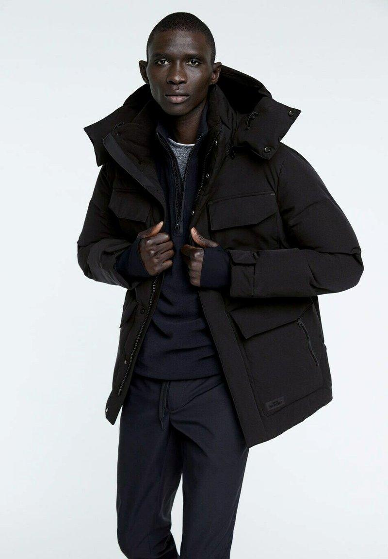 Mango - POLAR - Winter jacket - schwarz