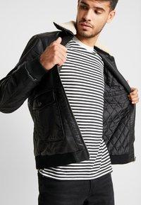 Tiffosi - FLYER - Faux leather jacket - black - 5