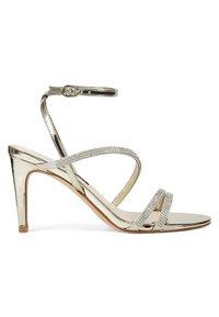 Nine West - High heeled sandals - gold - 3