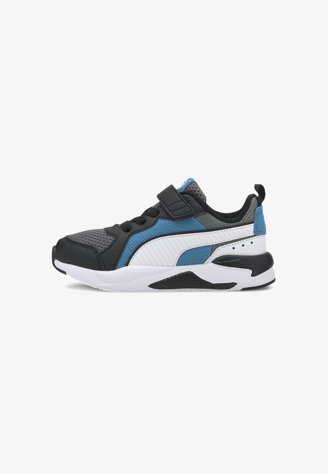 X-RAY AC KIDS - Trainers - gray-white-blk-dresden blue