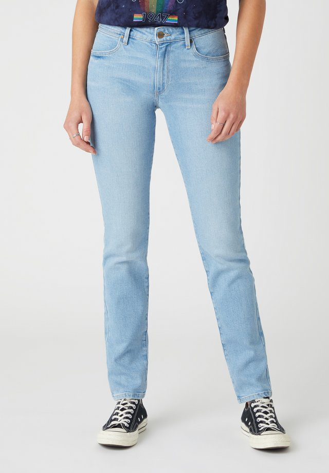 Slim fit jeans - clear blue