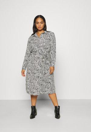 UTILITY MIDI DRESS - Day dress - black