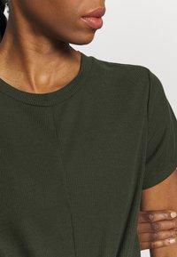 Cotton On Body - TIE UP  - Basic T-shirt - khaki - 3