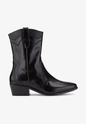 WESTERN - Cowboy/Biker boots - schwarz