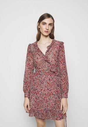 WRAP  - Sukienka letnia - dark ruby
