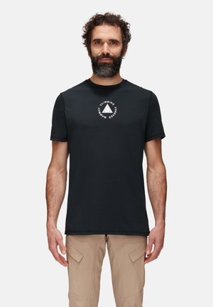 MASSONE MEN - Print T-shirt - black prt