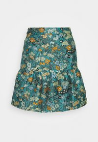 Who What Wear - FLIPPY MINI SKIRT - A-line skirt - daisy - 0