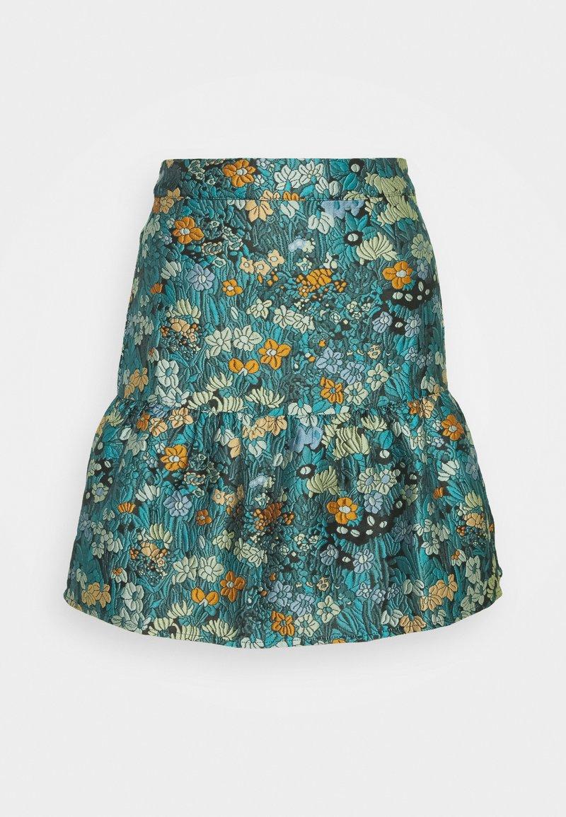 Who What Wear - FLIPPY MINI SKIRT - A-line skirt - daisy